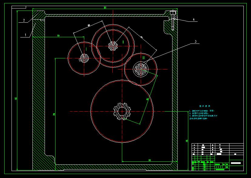 机床主传动系统设计/分级变速主传动系统课程设计/减速器设计