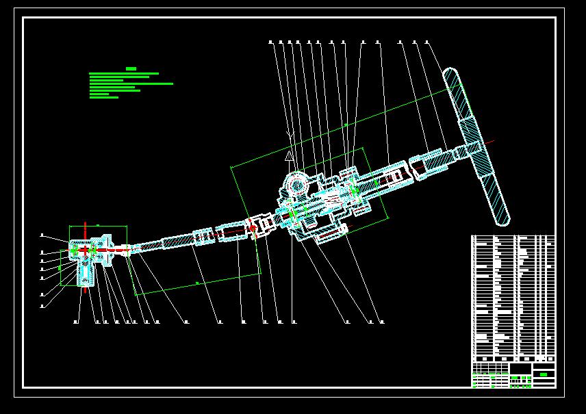 机械设计实例-1.5L轿车齿轮齿条式转向器设计【开题报告+CAD+说明书】【原创设计】