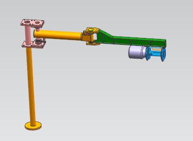 小型专用机器人悬臂吊车.zip