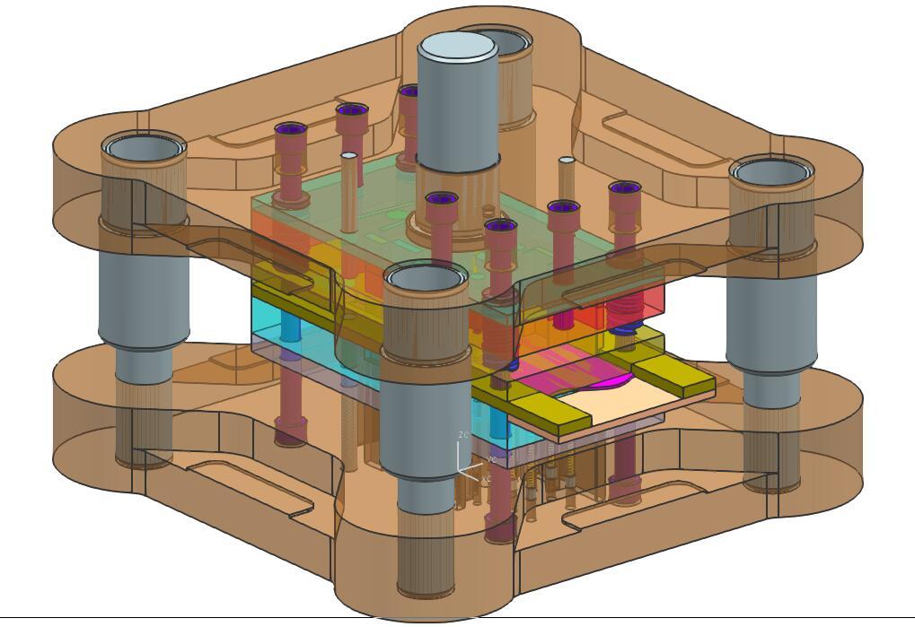 原稿-L型支架冲压模具设计【含全套CAD图纸、SolidWorks三维、毕业论文、任务书】.rar