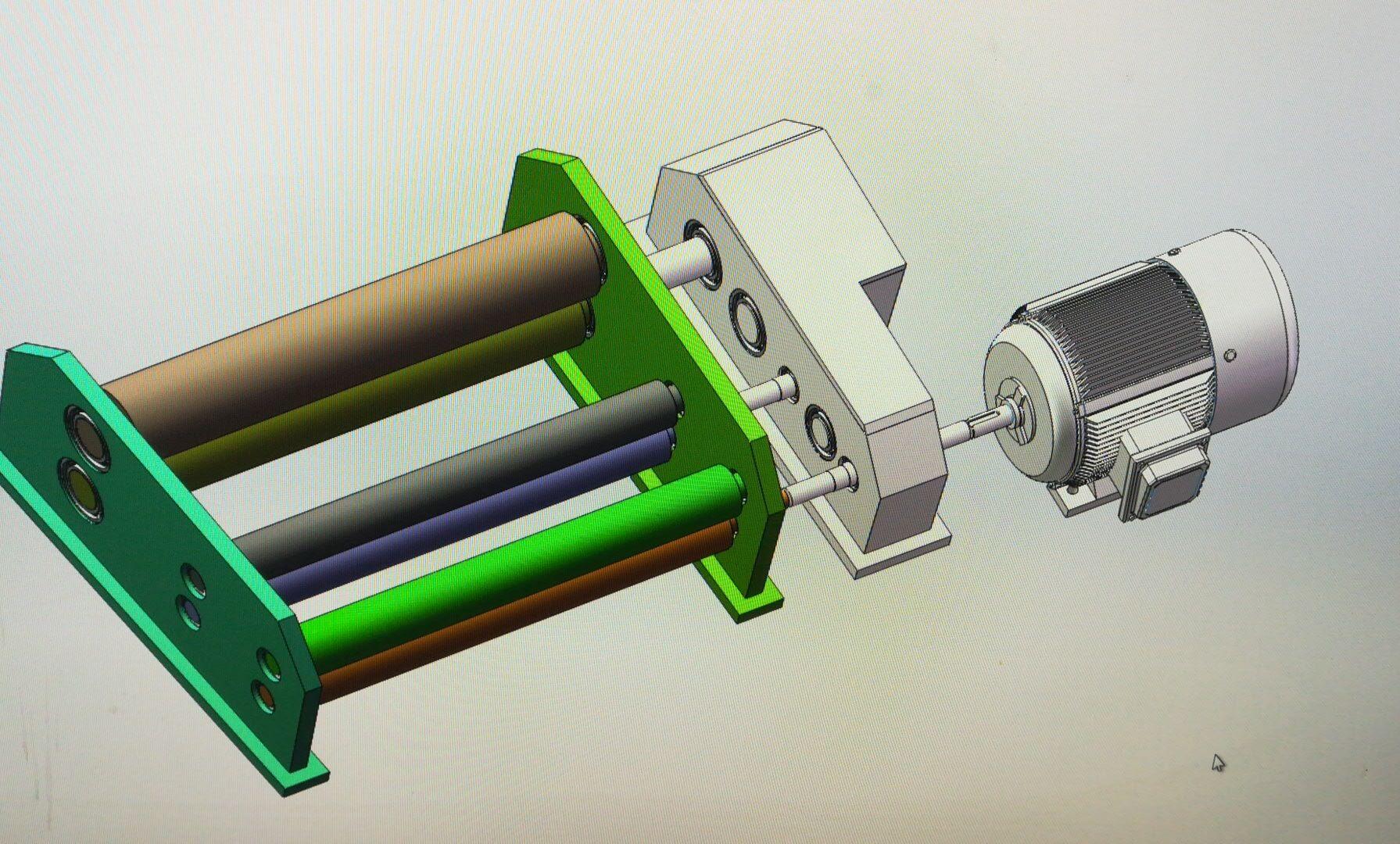 原稿-FA302并条机罗拉牵伸传动机构设计【含全套CAD图纸、SolidWorks三维、毕业论文、任务书】.rar