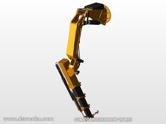 臂式起重机立柱及其起重手臂结构设计模型.zip