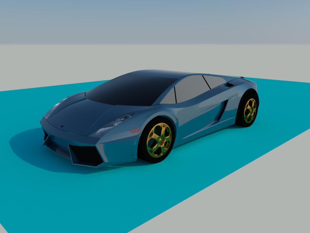 兰博基尼LP554超跑汽车设计模型【cad】.rar