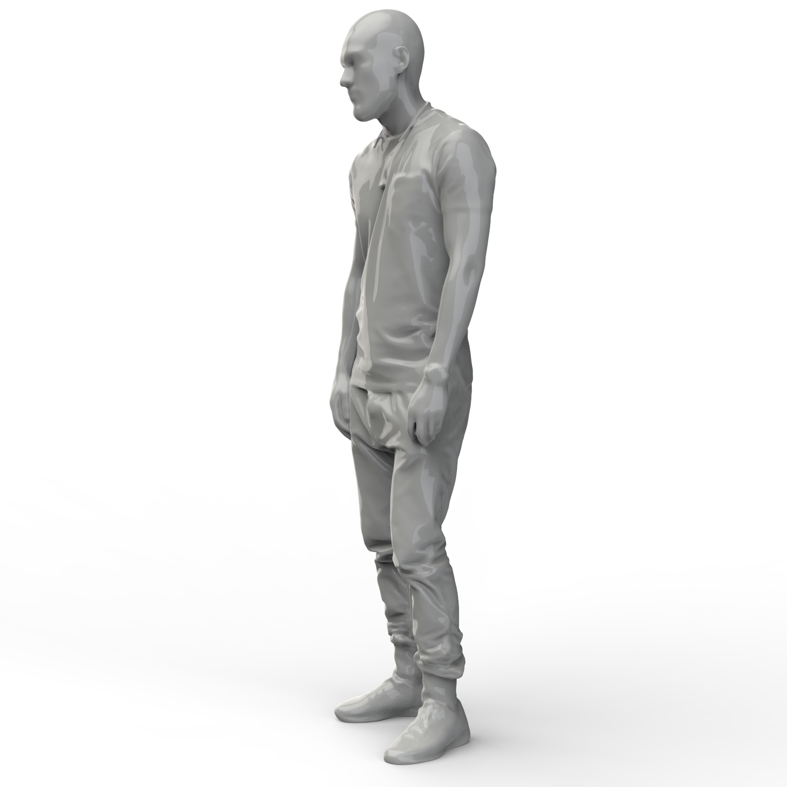 3D扫描男人模型【step】.rar