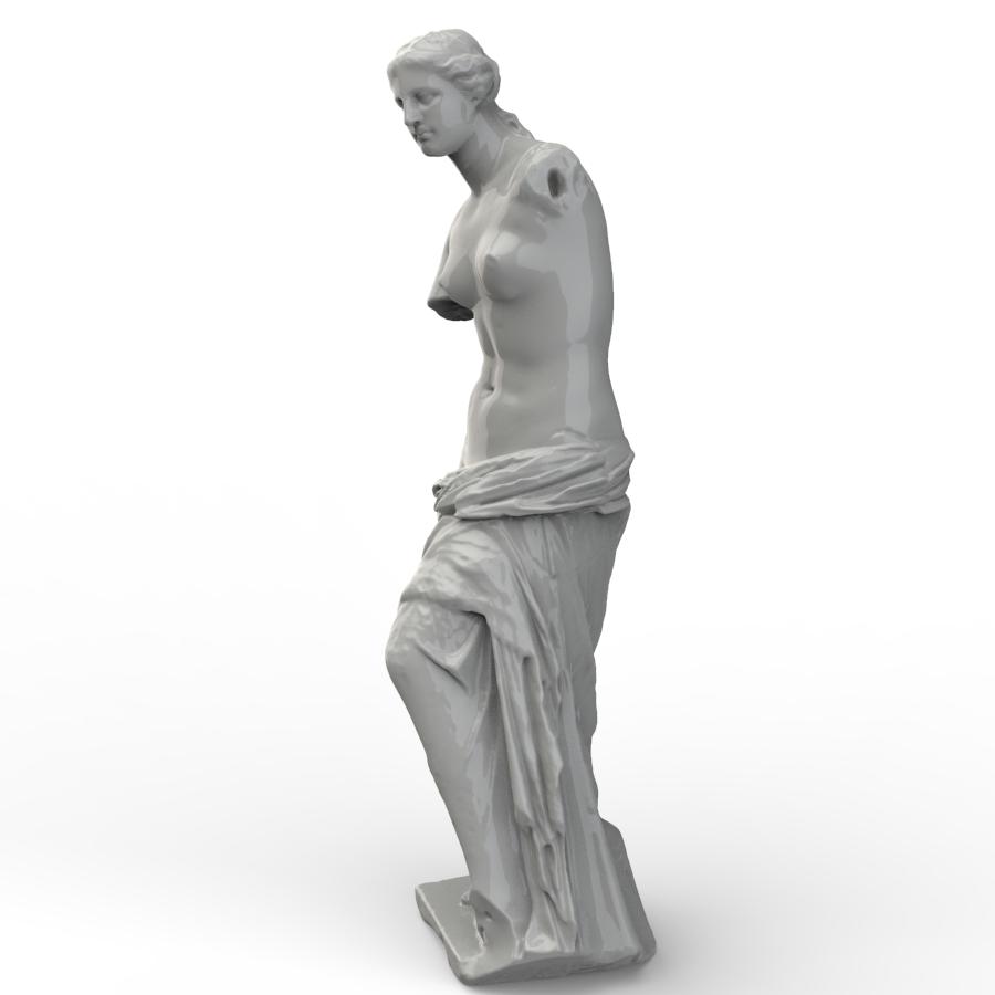 维纳斯半身3D扫描头像【step】.rar