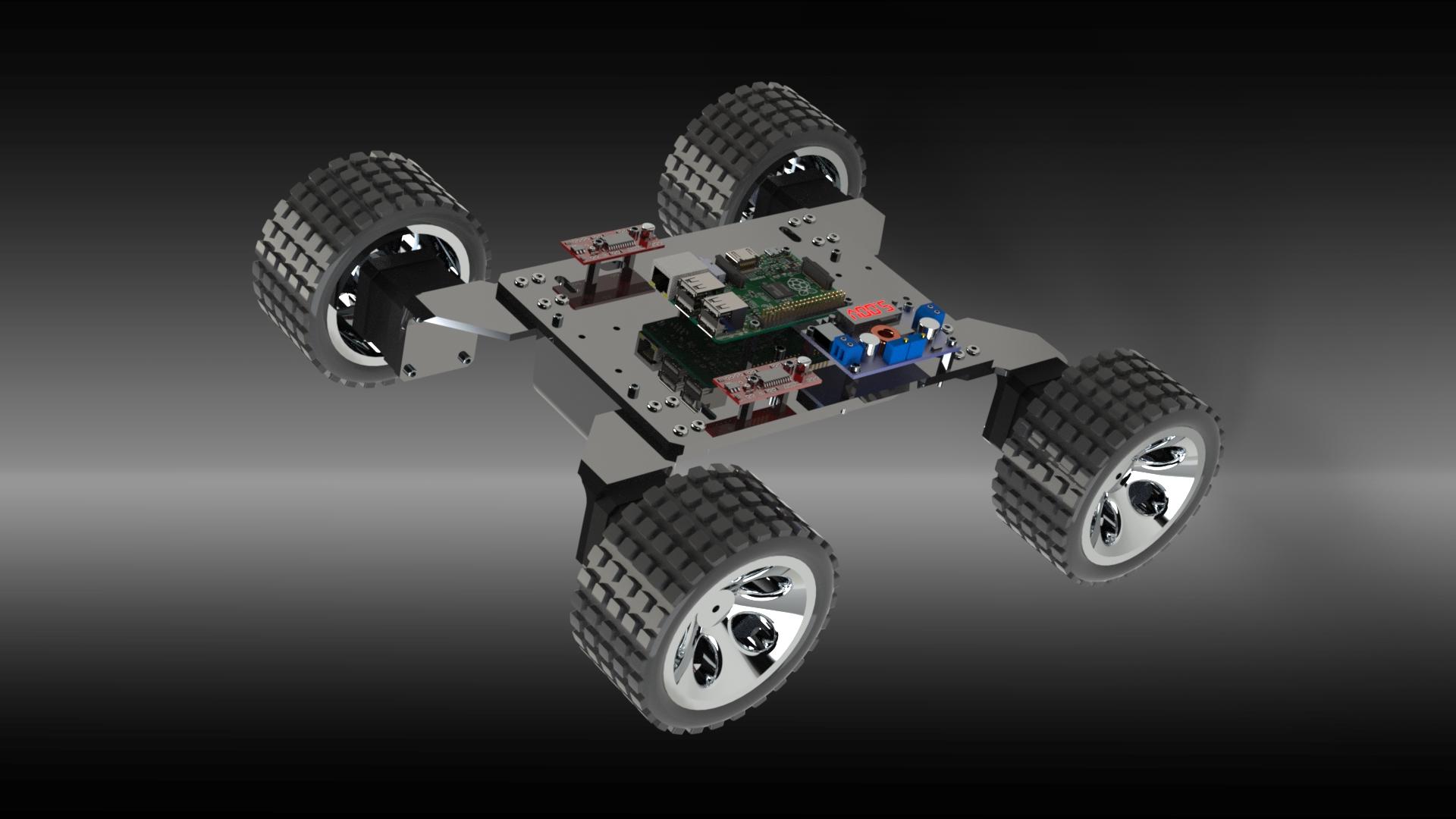 月球漫游者号智能探测车结构设计【solidworks】.zip