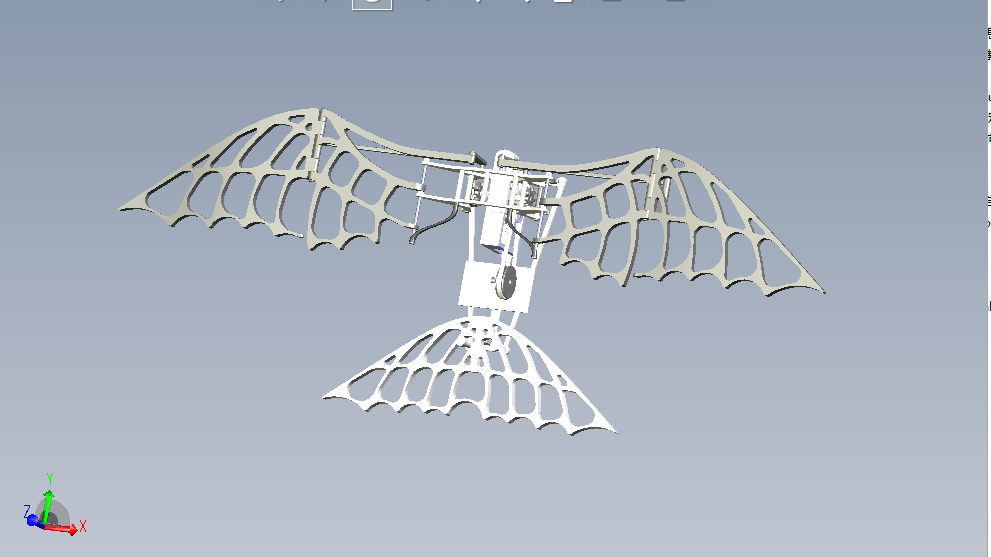 原稿!翅膀扇动试验装置【任务书+CAD+三维CATIA +说明书】.rar